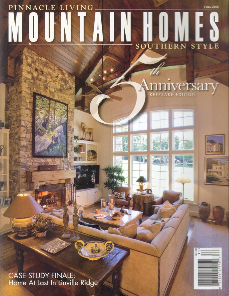Pinnacle Living Mountain Homes - national publications