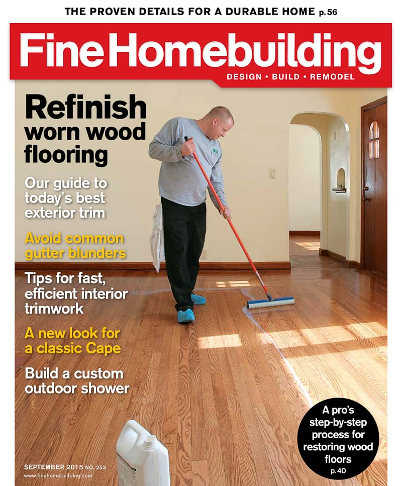 Fine Homebuilding - national publications