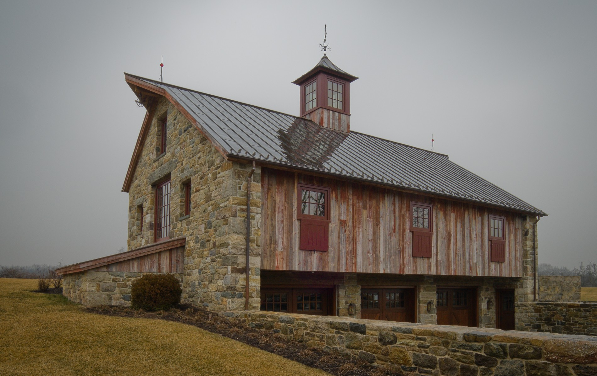 timber frame barn in NJ