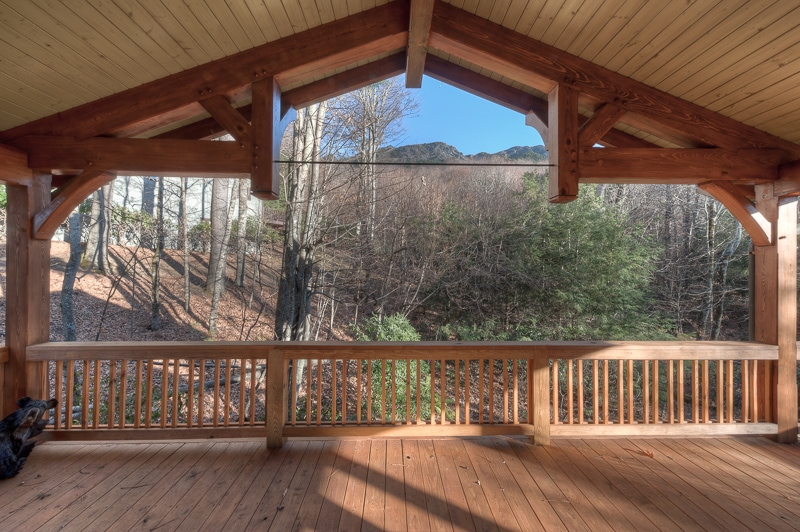 Timber frame porches for Timber frame porch addition