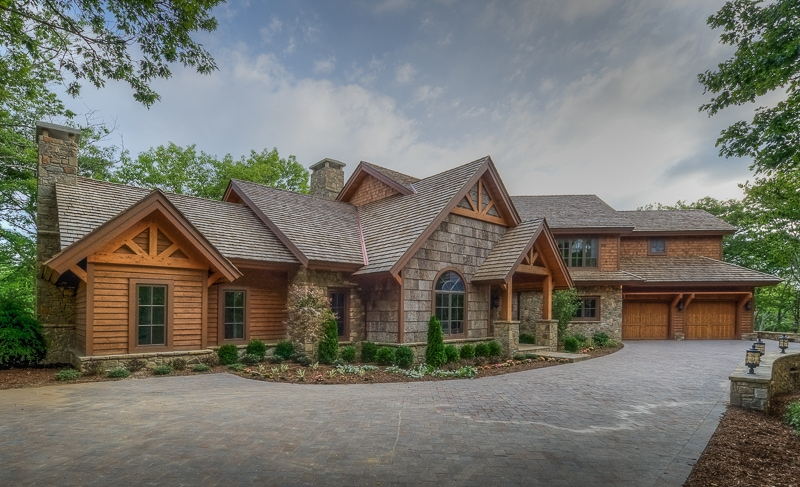 Wooden Front Porches