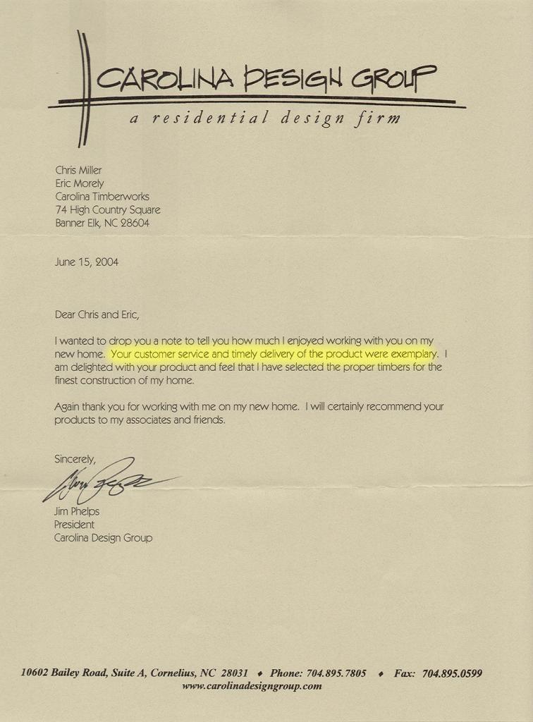 Carolina-Design-Group-reference-letter-highlighted