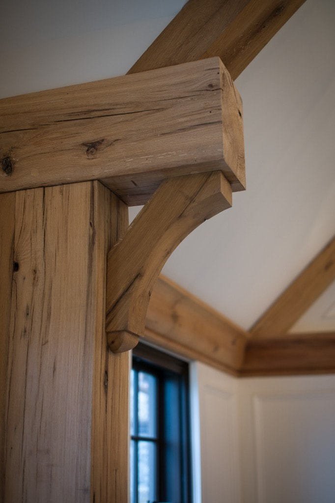 Reclaimed Wood White Oak timber Bracket