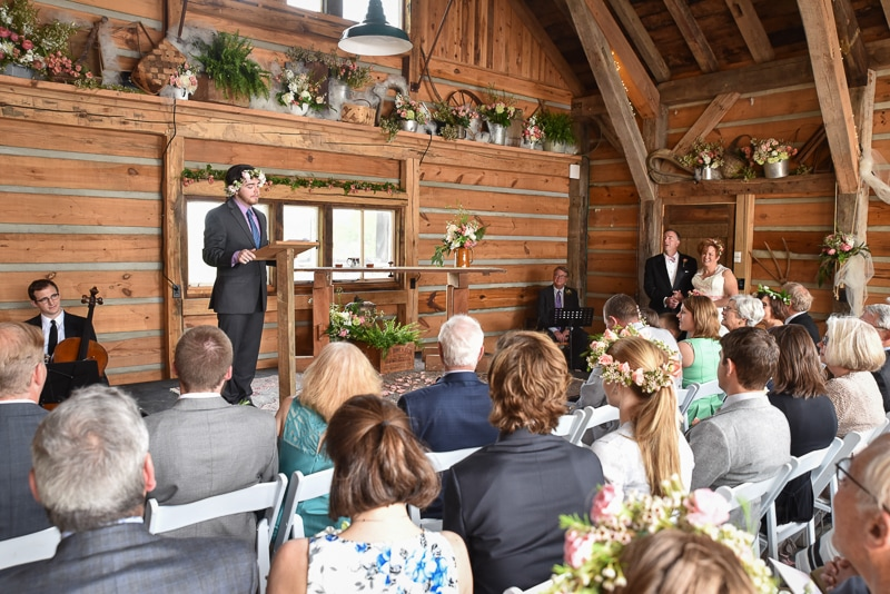 Timber Frame Wedding Barn