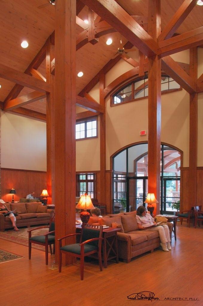 timber frame medical offices