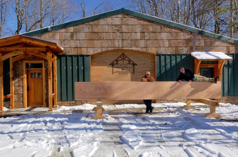 timber frame shop boone nc