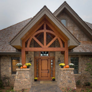 Timber Frame photos - entryways