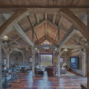 Timber Frame photos - great rooms