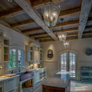 Timber Frame photos - kitchens