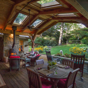 Timber Frame photos - porches