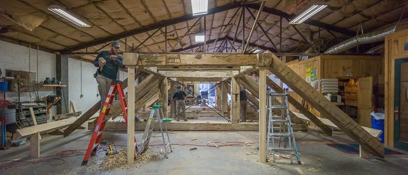 prefit timber frame