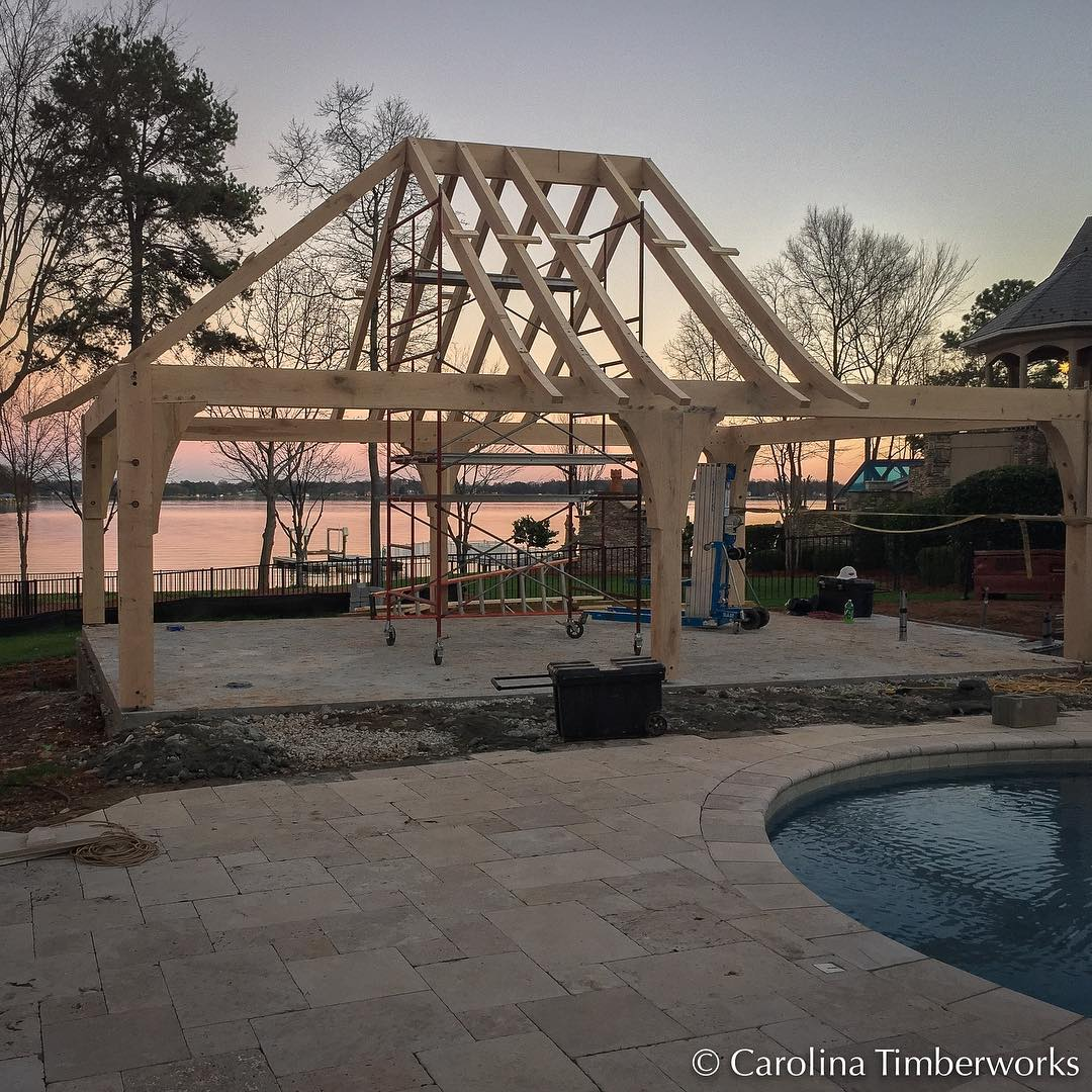 """Quoting another industry luminary (Tedd Benson), """"A Timber frame is absolute honesty.  It carries its weight."""""""