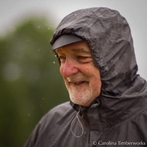 Men of Steel, like Jeff Arvin (Executive Director of the Timber Framers Guild), aren't bothered by rain, but they secretly worry about rusting.