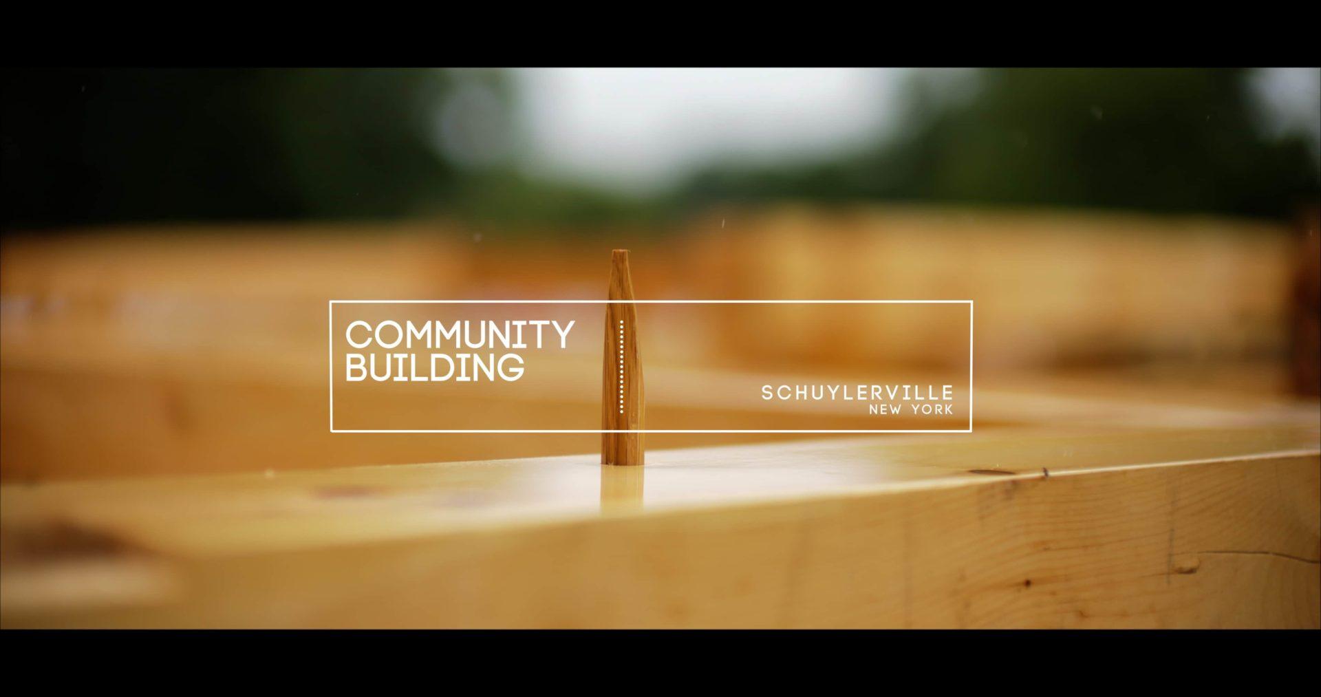 Schuylerville NY Timber Frame Video