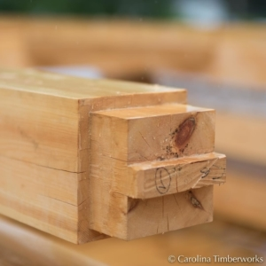 The differences between a hand-cut and a machine-cut timber frame may be subtle, but there is a spirit in objects that are made by loving hands.