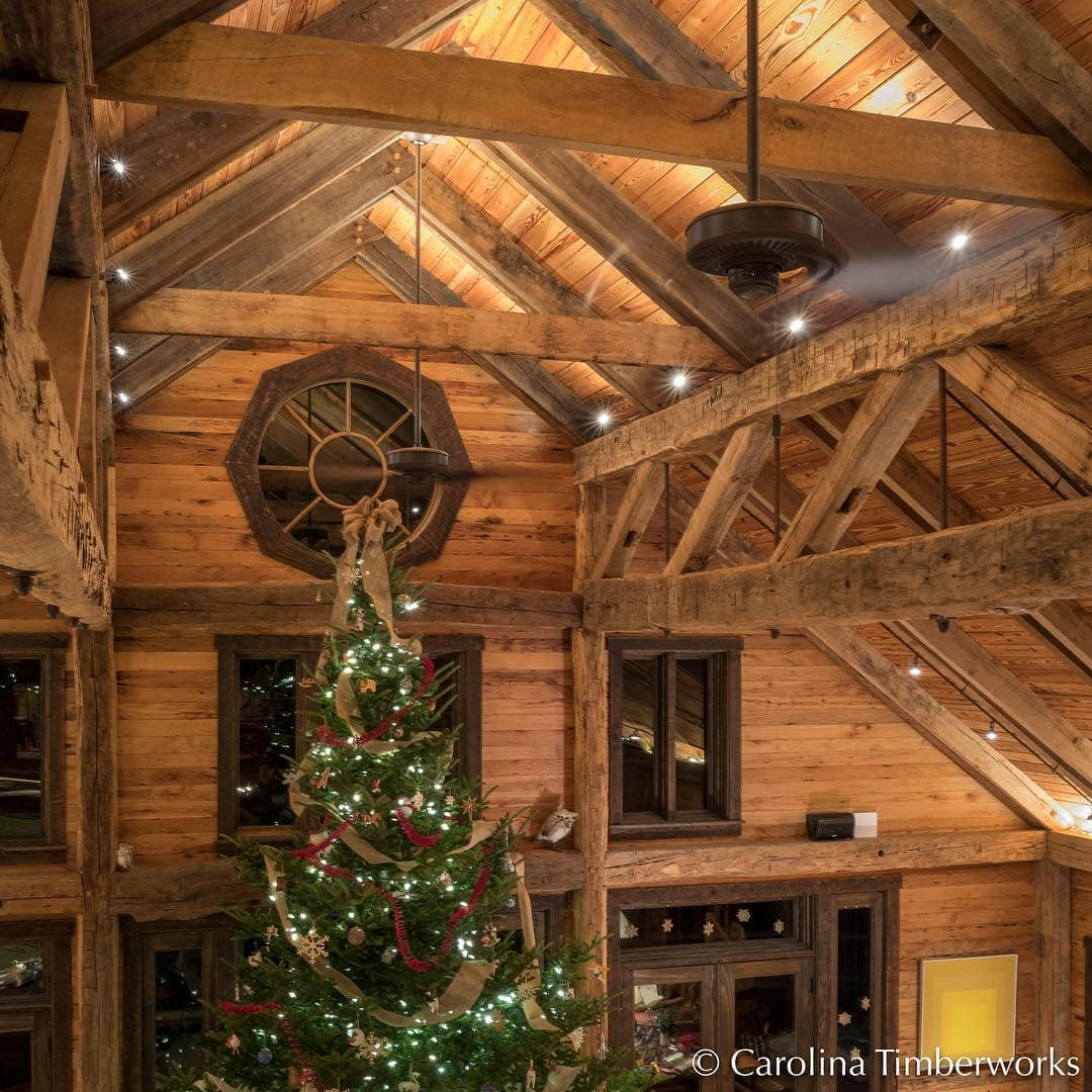 The only problem with timber framing is…well, there isn't one.
