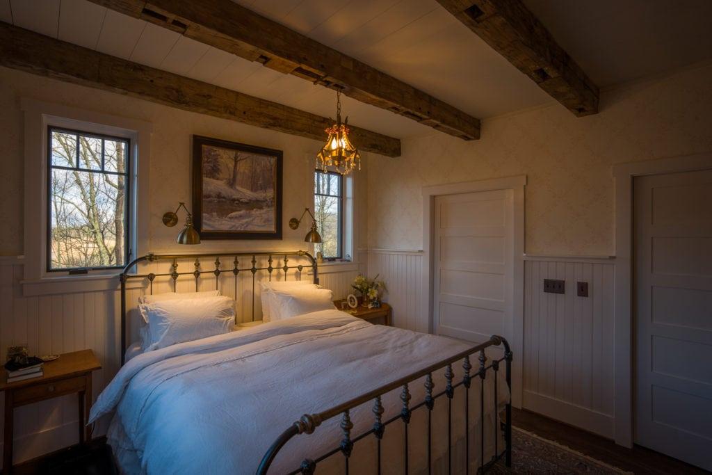 Bedroom Ceiling Beam