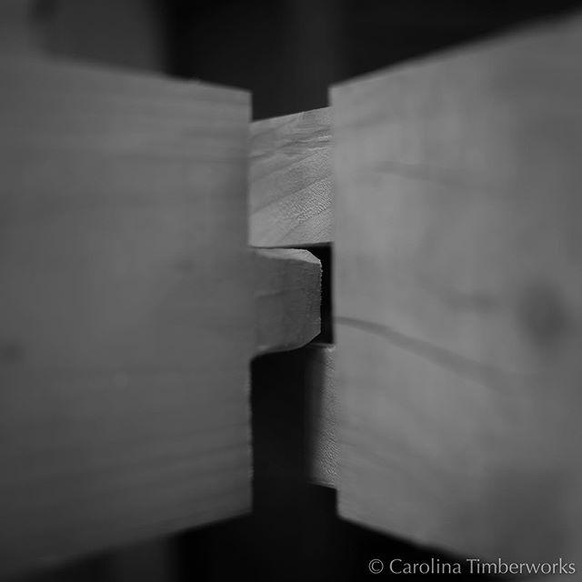 Two Beams United As One A Marriage Carolina Timberworks