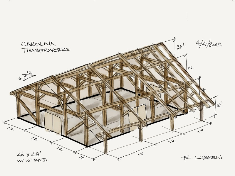 timber frame barn design