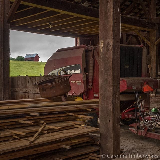 from one barn to another…