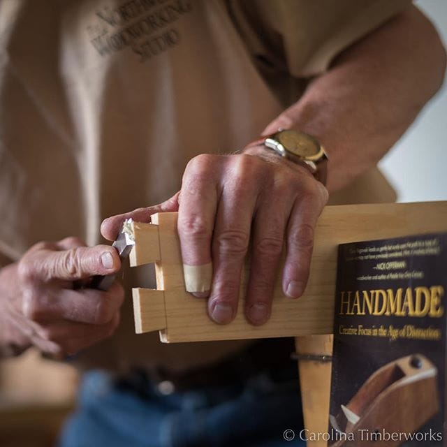 Gary Rogowski's new book, Handmade: Creative Focus in the Age of Distraction, is entertaining and worth reading.  We enjoyed his presentation on hand planes at the recent Timber Framers Guild conference at Timberline Lodge.