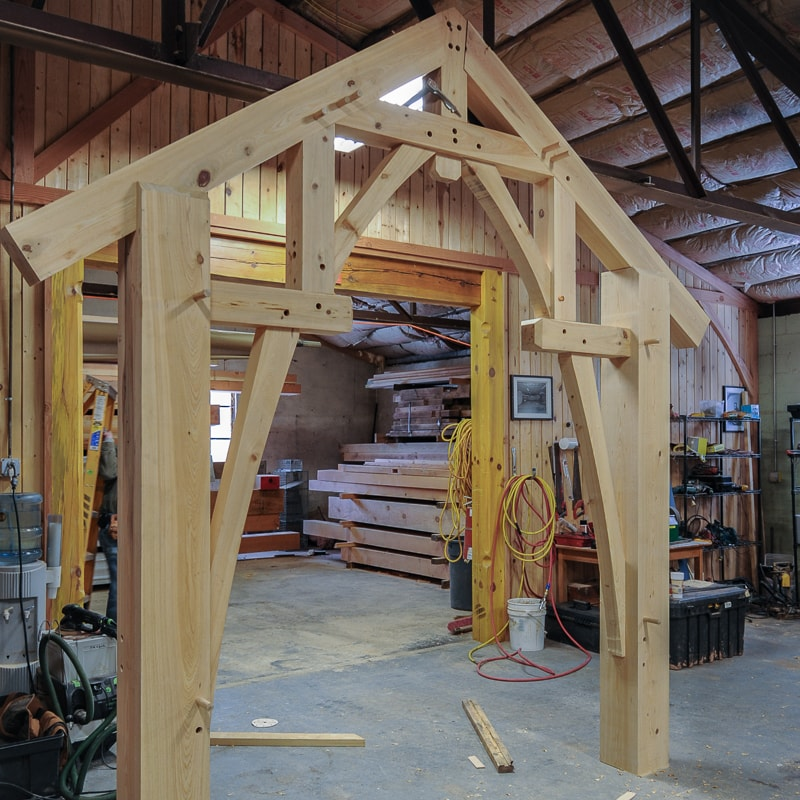 What is the best wood for timber frame homes and projects?