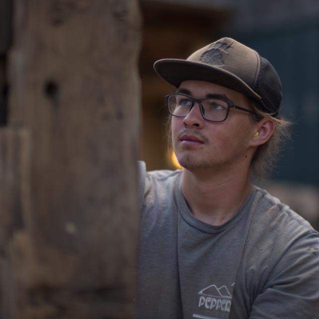 Sage Miller Timber Framer