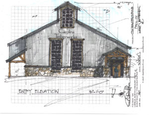 Timber Frame Manufacturing Facility West Jefferson NC