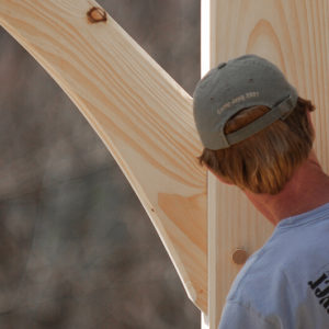 Building a Timber Frame Inspection