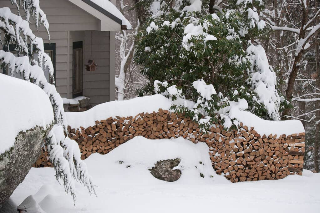 Why have a firewood storage shed
