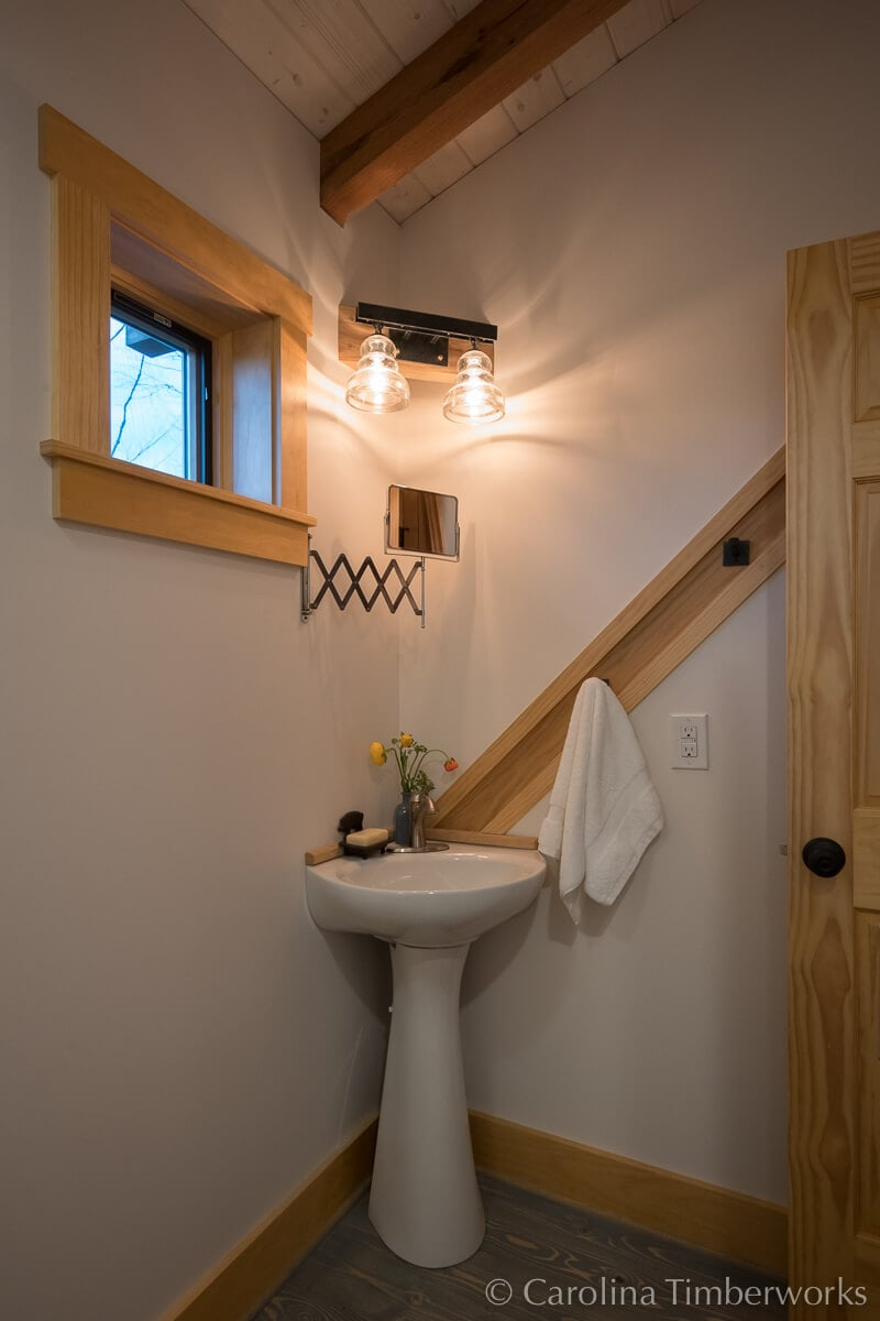Post and beam Accessory Dwelling Unit