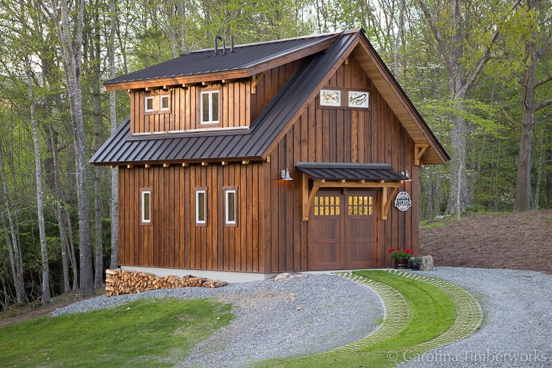 Timber Frame Accessory Dwelling Unit