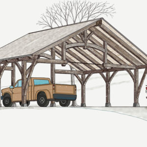 Timber Frame Carport