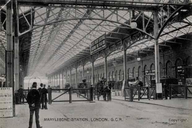Marylebone station porte cohere