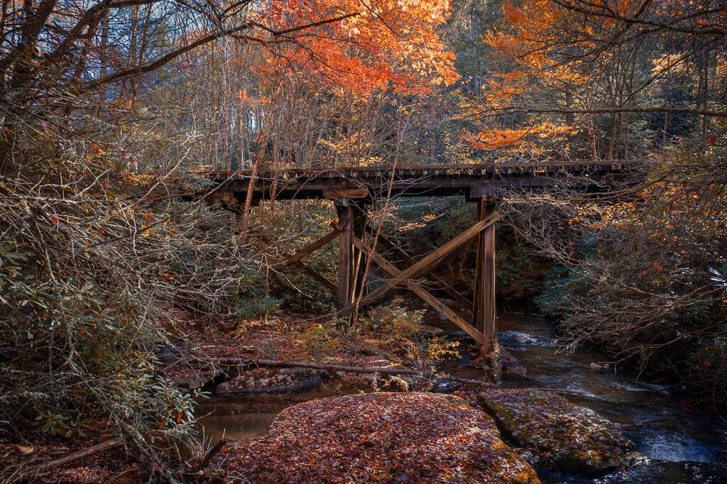 Virginia Creeper trestle bridge