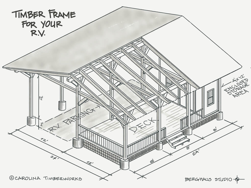 Timber Frame for your RV