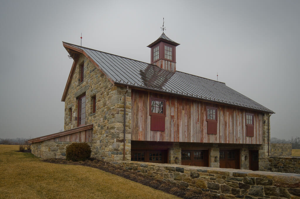 New Jersey Timber Frame Barn