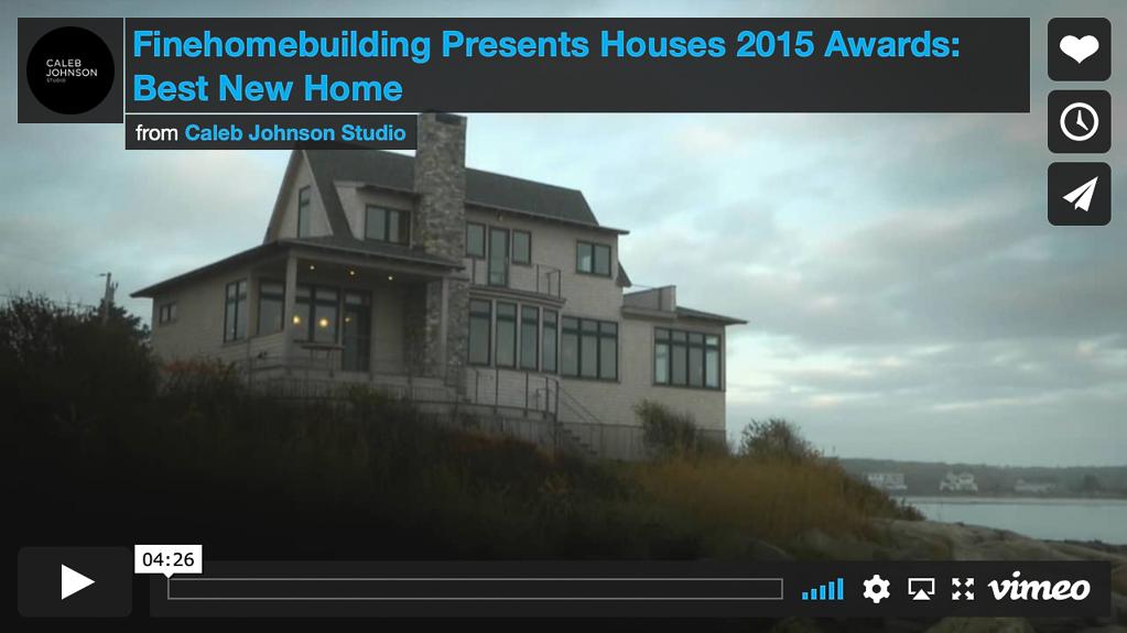 timber frame home design winner