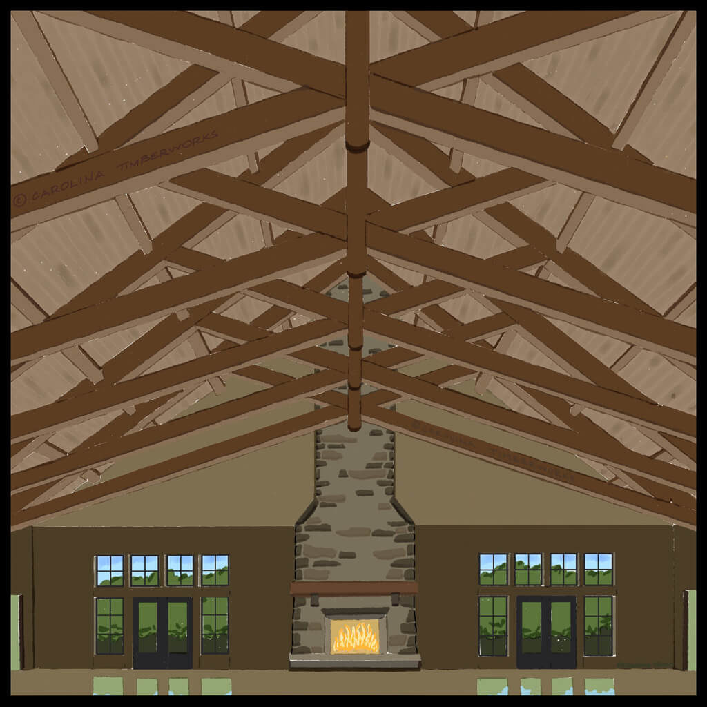 Commercial Timber Frame