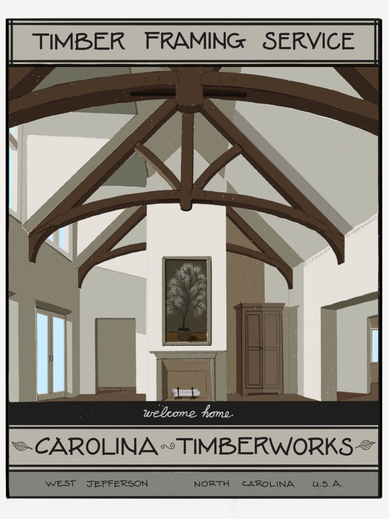 Timber Frame Great Rooms