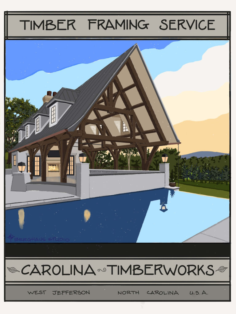 Timber Frame Pavilions and Gazebos